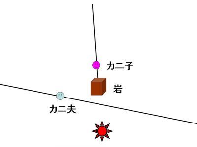 蟹交線 図4