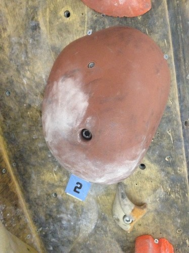 ボルトオンホールドのナット穴