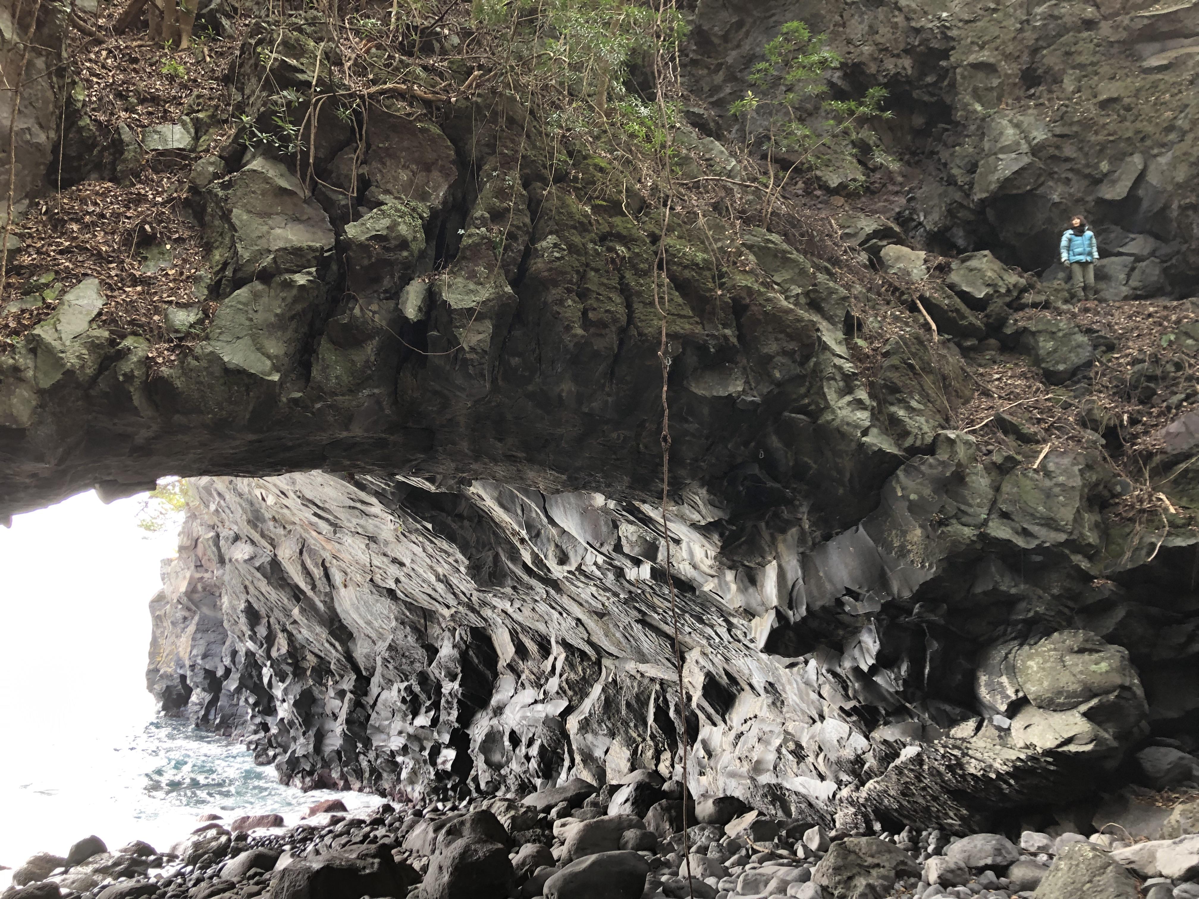 城ヶ崎に始まり城ヶ崎に終わった19年1月 ブリザードを登った