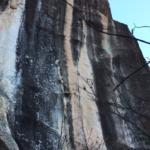 小川山でスーパーイムジンを登った
