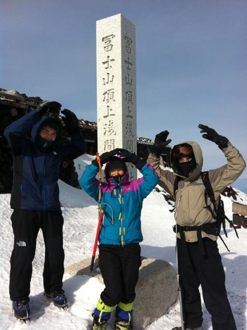 冬富士登頂