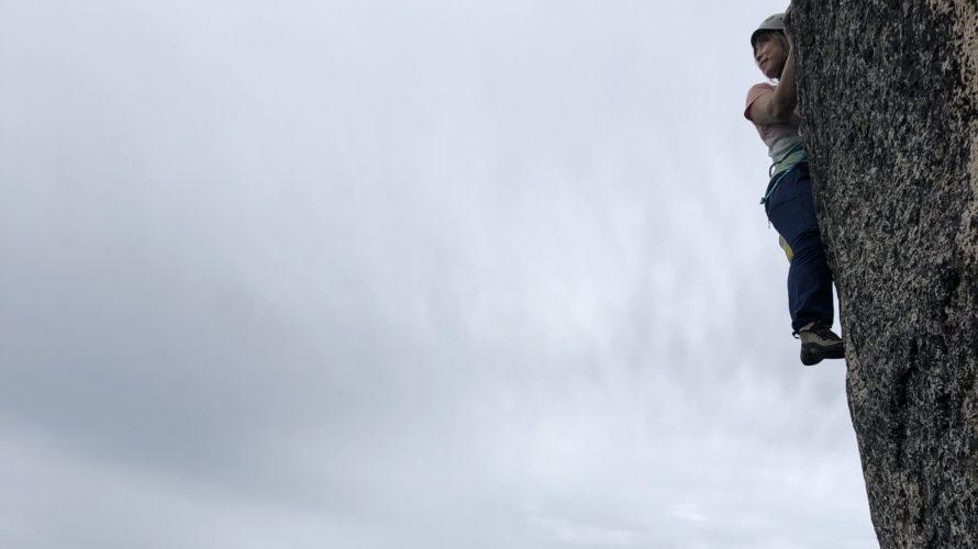 あけない梅雨の中、小川山でボルダーサーキット&瑞牆で荷上げ