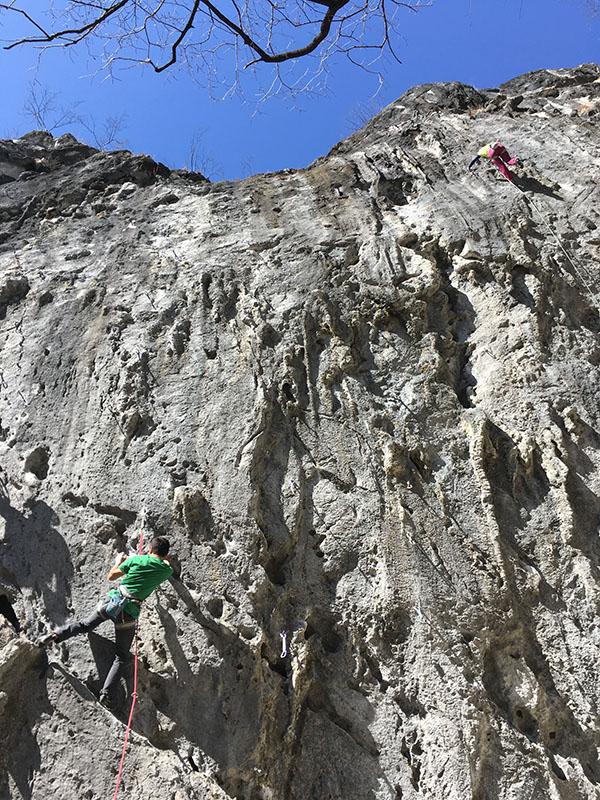 二子山で色々と登った、2018年1月~3月シーズン