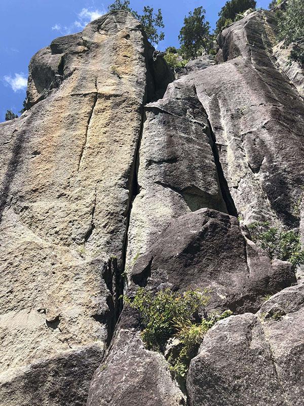 瑞牆・小川山で最近登ったものなど 2018年8月9月