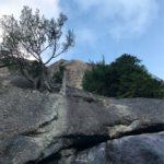 8月最後の瑞牆トレ 炎天下で「太陽の登」